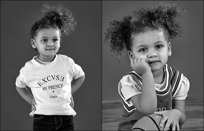 Shooting photo d'enfants en studio sur Lyon